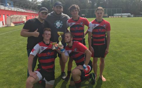 Naši junioři spojeni s hradeckými lvy vyhráli turnaj U18