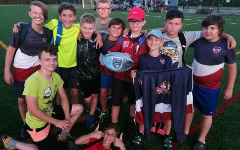 Junioři trénovali s Novozélandským tým NZ Galaxy Worldwide