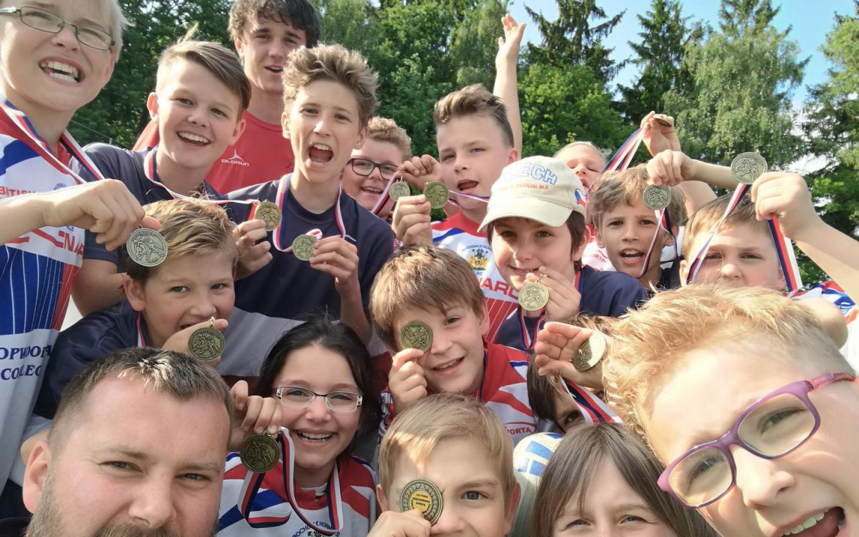 Od září začínají kroužky rugby pro děti od 6 do 15 let.